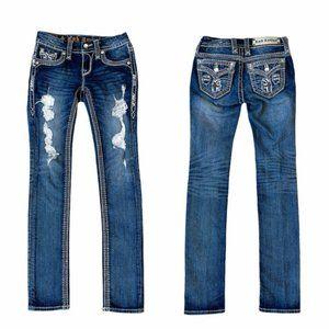 Rock Revival Felicia Cuff Straight Jeans